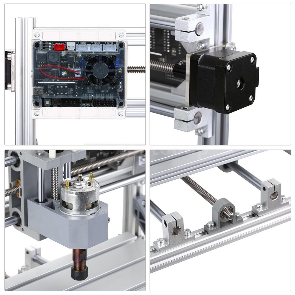 CNC3018 With ER11 DIY CNC Engraving PCB PVC Milling Machine Wood Router A1R7