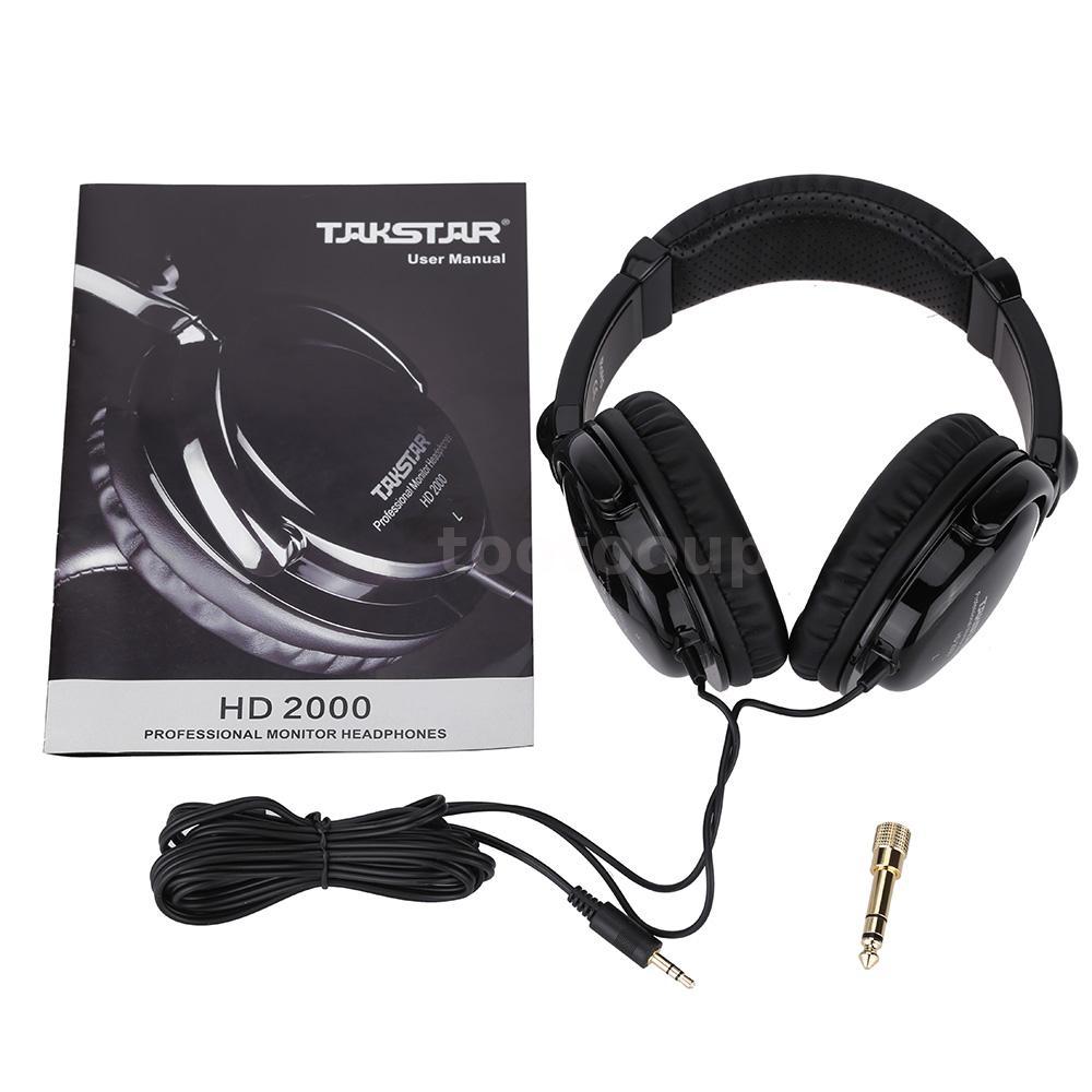 takstar hd2000 headphones audio mixing studio recording dj for guitar i0r3 ebay. Black Bedroom Furniture Sets. Home Design Ideas