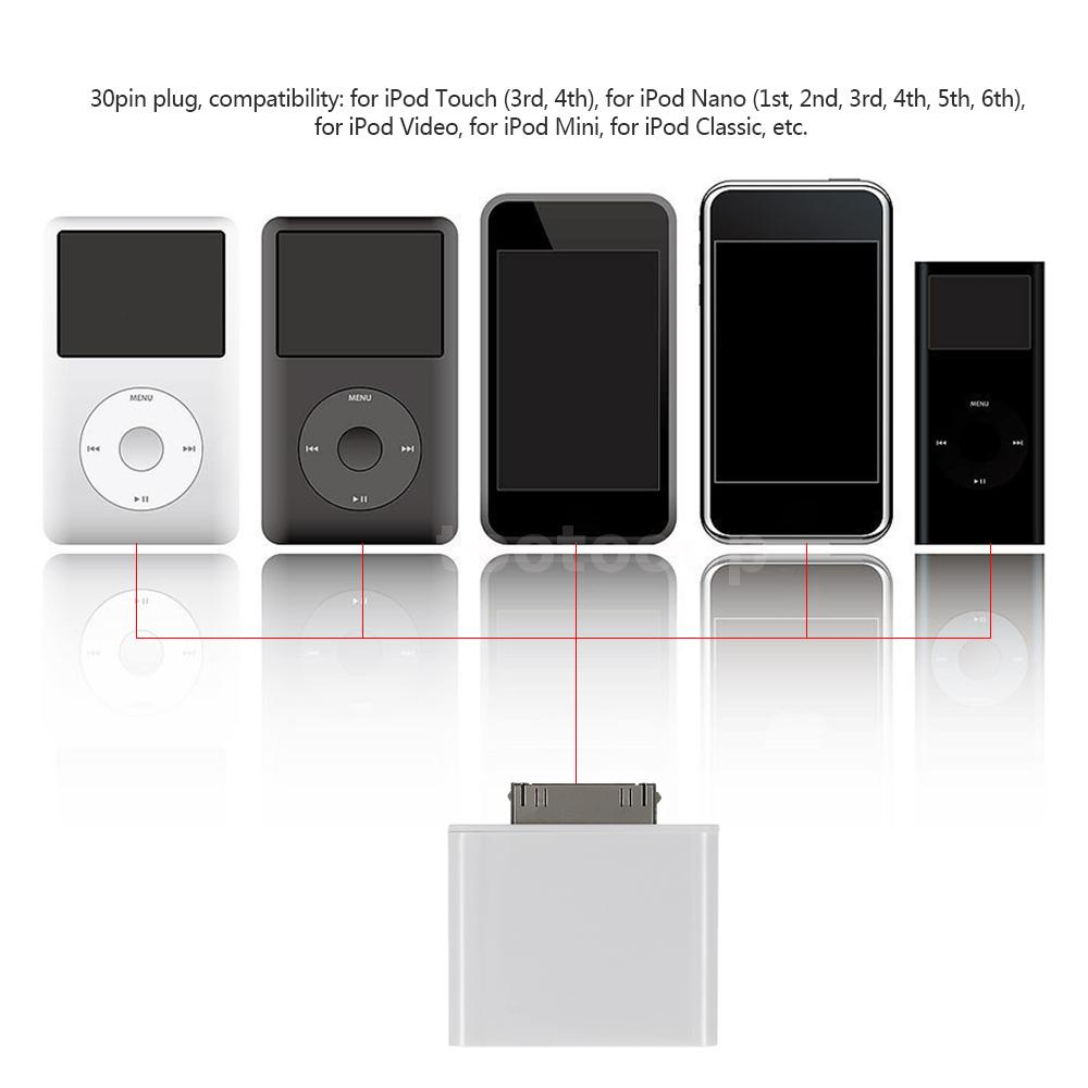 how to connect ipod nano to bluetooth