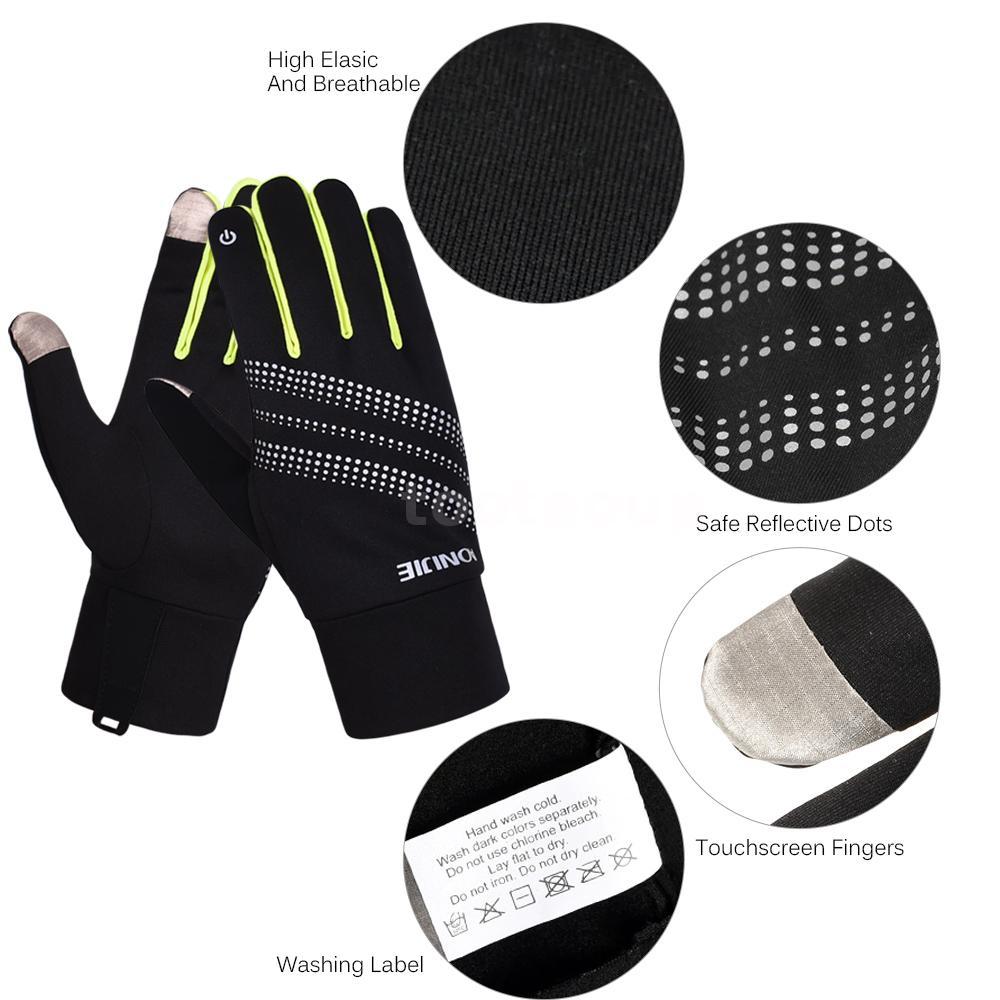 AONIJIE Outdoor Sports Men Women Gloves Warm Windproof Cycling Running B4I7